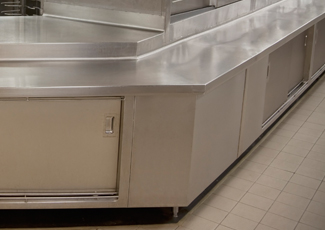 Stainless Steel Cabinets - Mogul, NV