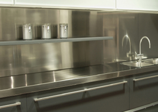 Stainless Steel Countertop - Johnson Lane, NV