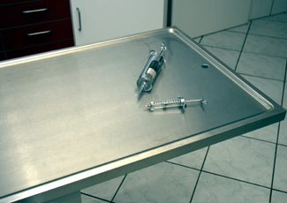 Incline Village, NV Stainless Steel Dining Table
